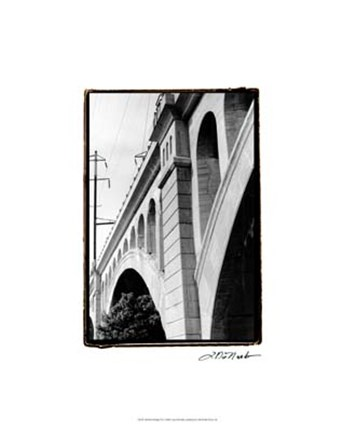 Framed Bridge III Print