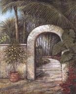 Tranquil Garden II  Fine Art Print