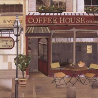 Coffee House Corner Art