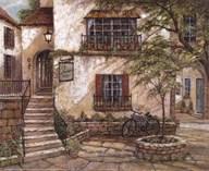 La Maison du Vin  Fine Art Print