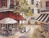 Daytime Cafe I  Fine Art Print