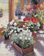 Flowers Pot  Giclee