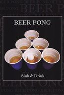 Beer Pong  Fine Art Print
