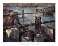 Panoramic View - Manhattan Art