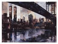 Manhattan Skyline Art