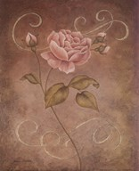 Pink Elegance I  Fine Art Print