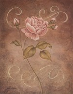 Pink Elegance I Art