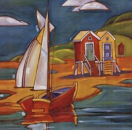Cabanas  Fine Art Print