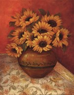 Tuscan Sunflowers II - mini  Fine Art Print