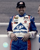 Kyle Petty portrait in Georgia Pacific uniform, 2004 Nextel  Fine Art Print