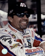 Kyle Petty portrait in Merchants uniform, 2006 shot