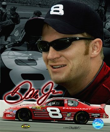 dale earnhardt jr. makeup. Dale Earnhardt Jr. and