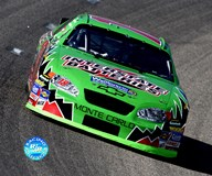 Bobby Labonte car shot, front view  Fine Art Print