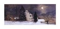 A Cold Night  Fine Art Print