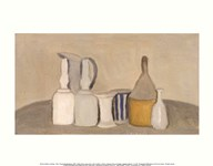 Still Life of Bottles and Pitcher, 1946 Art