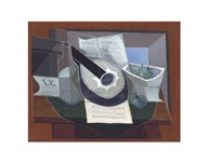 Still Life with a Guitar, 1925 Art