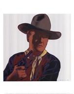 Cowboys & Indians: John Wayne 201/250, 1986  Fine Art Print