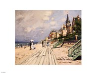 Beach at Trouville, c.1870 Art