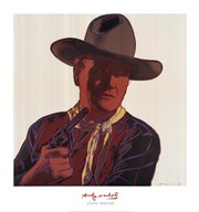 Cowboys & Indians: John Wayne 201/250, 1986 Art