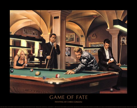 Game Of Fate Fine Art Print By Chris Consani At