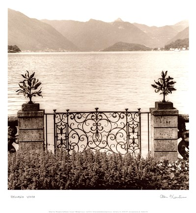 Framed Bellagio Vista Print