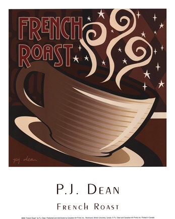 Framed French Roast Print