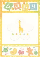Baby - Giraffe  Greeting Card
