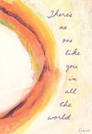 Birthday Abstract No One Like You  Greeting Card