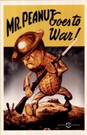 Mr Peanut Goes To War