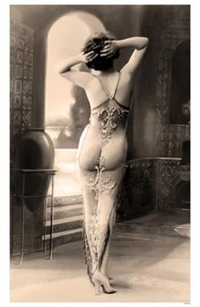 French Postcard #6 Early Erotica art print