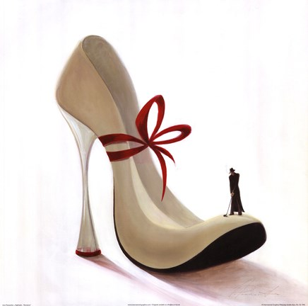 Highheels Romance Fine Art Print By Inna Panasenko At