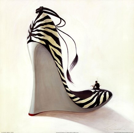 Framed Highheels - Coolness Print