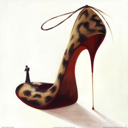 Framed Highheels - Wild Passion Print