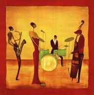 Jazz Band Art