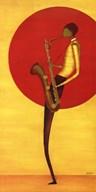 Jazz Man II  Fine Art Print