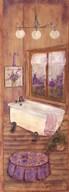 Bath in Lavender II  Fine Art Print