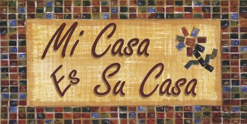 Mi Casa Es Su Casa Fine Art Print By Grace Pullen At