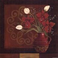 Tranquil Bouquet II  Fine Art Print