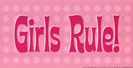 Girls Rule!  Fine Art Print