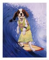 Surf Dawg  Fine Art Print