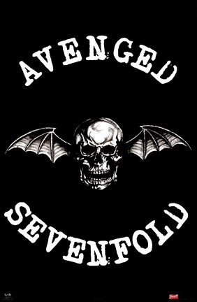 avenged sevenfold wall poster by unknown at. Black Bedroom Furniture Sets. Home Design Ideas