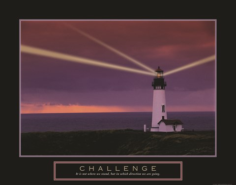 Framed Challenge - Lighthouse Print