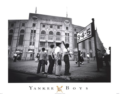 Framed Yankee Boys Print
