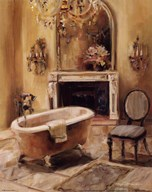French Bath I Art