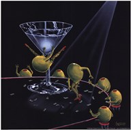 Even Dirtier Martini  Fine Art Print