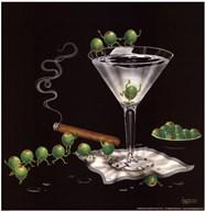 Martini Limbo  Fine Art Print