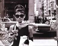 Audrey Hepburn - Window  Wall Poster