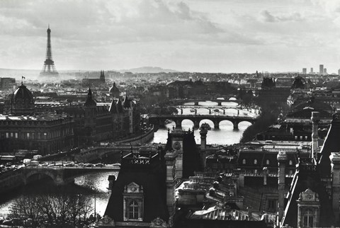 Paris France (B&W)