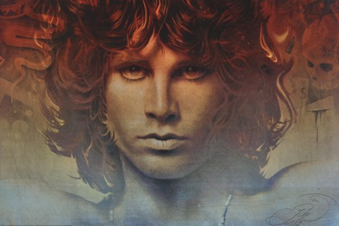 Framed Jim Morrison - Spirit Print