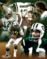 Joe Namath - Legends Of The Game Composite Art